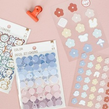 Journamm 120pcs Cute Sticky for Diary Deco Kawaii Stationery Supplies Plant Stickers Bullet Journal Scrapbooking Label Stickers
