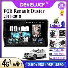 Develuck 2 din Android car Radio multimedia Player For Renault Duster 2015 2016 2017 2018 IPS 2.5D No 2din GPS Navigation RDS FM(China)