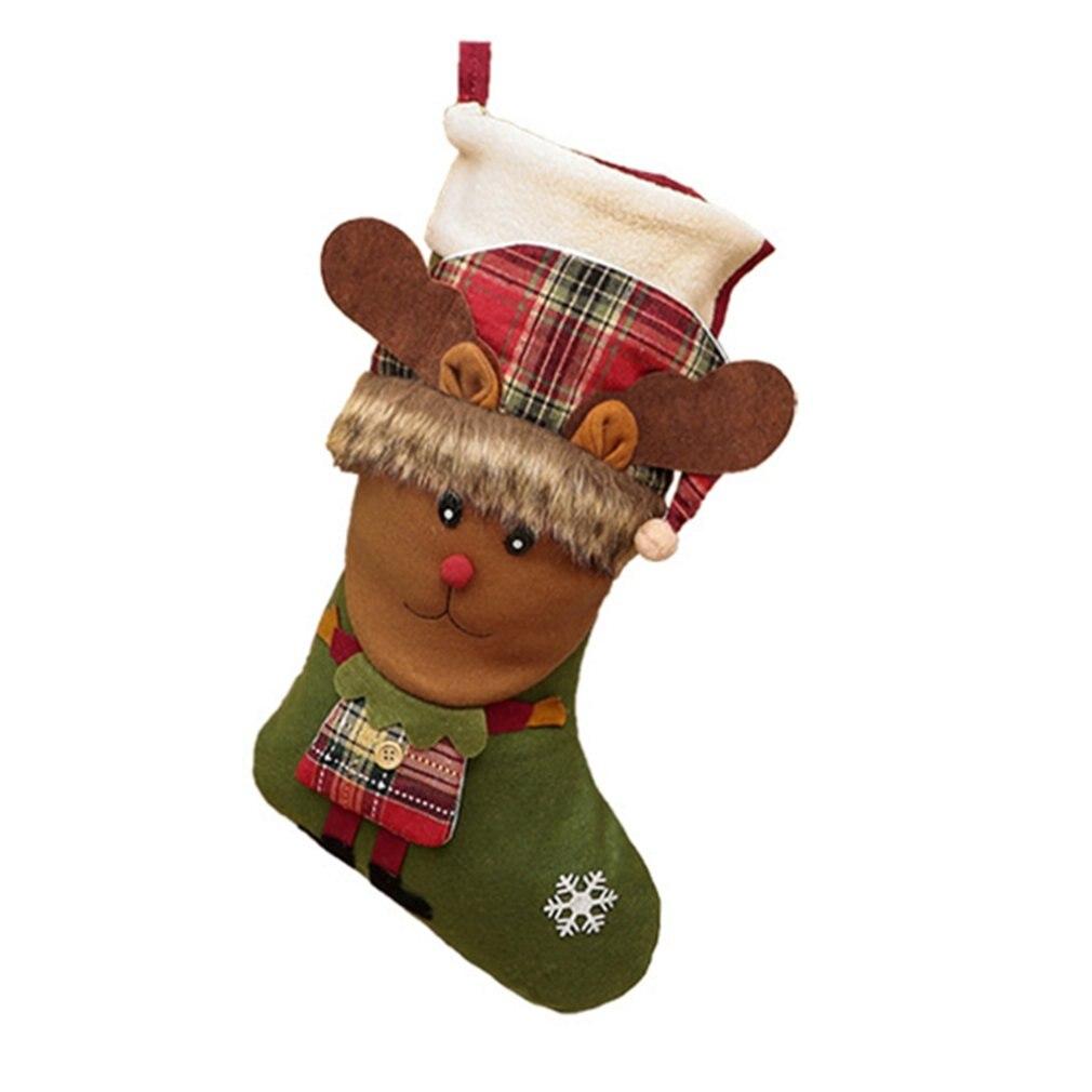Купить 2020 новые милые мультяшные рождественские висячие подарочные