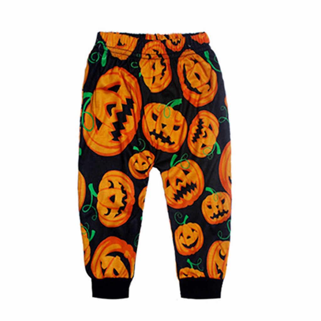 Baby Halloween Clothes Costume Toddler Baby Boys Girls Pumpkin Romper Pants Cap Halloween 3PCS Outfits Set Vetement Bebe Garcon