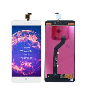 """Image 4 - 5 """"LCD ZTE Blade X3 tam LCD bıçak D2 ekran dokunmatik ekran sensörü sayısallaştırıcı meclisi T620 A452 ekran yedek LCD yeni"""