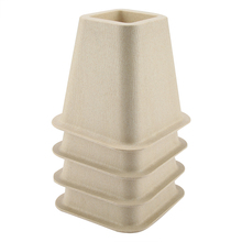 Imitation Porcelain Furniture Raisers Set of 4 For Bed Risers Chair Desk Table Wood Floor Feet Protectors Furniture Risers
