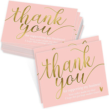 10-50pcs varied style Business CARDS Birthday card Thanks you card paper Pink envelope Valentine's day message card 5*9cm