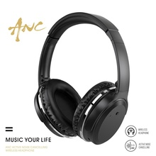Universal Wireless Bluetooth Headphones Over Ear Active Noise Cancelling wireless Headset with microphone for Cellphone/Tablet цена 2017