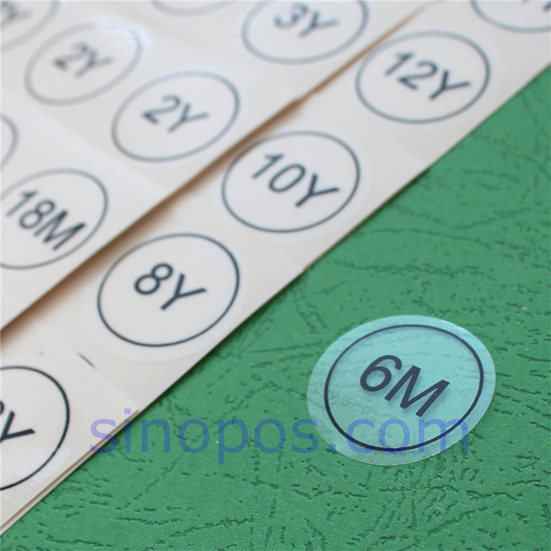 500 pcs LIME GREEN WOVEN TODDLER CLOTHING LABELS 4T SIZE TAGS 2T 3T