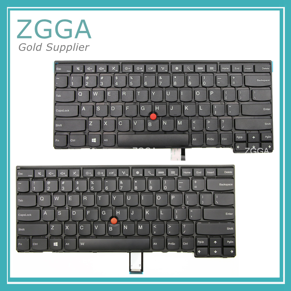 For Lenovo ThinkPad L440 L450 L460 T440 T440P T431S T440S T450 T450S <font><b>T460</b></font> US <font><b>Keyboard</b></font> 04Y0824 04Y0862 Backlit 04X0101 04X0139 image