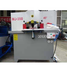 MJ-350 двойной нож для резки алюминия машина вертикальная Панель машина для пиления Алюминий газорезательная машина для толстолистового металла 3200 об/мин 6 кг/см 2.2KW* 2
