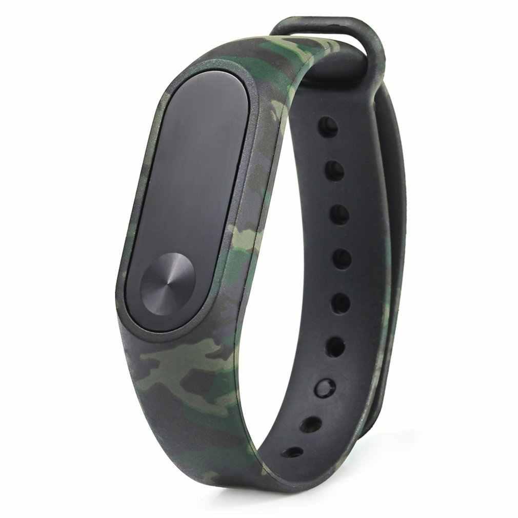 لينة TPU دائم استبدال مربط الساعة ل XIAOMI Miband 2 معصمه حزام الأزياء الملونة سوار ساعة ذكية