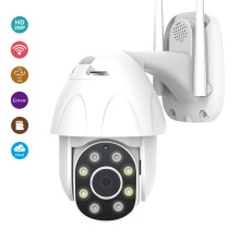 ATFMI Outdoor Ip Camera Wifi Cctv Mini Ptz Camera Home Security 360 Camera 2mp HD 1080p Wireless Video Surveillance  Speed Dome