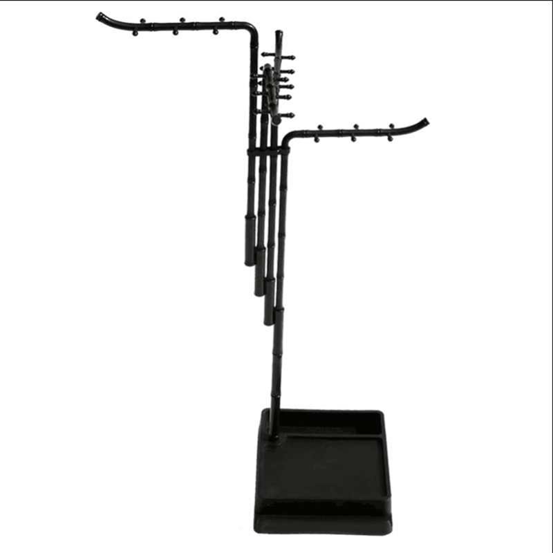 24 Hangers Multifunctional Pen Holder Fashion Design Calligraphy Brush Holder Traditional Painting Writing Plastic Brush Rack