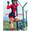 20 cores das mulheres longo mangas compridas skinssuit go pro equipe de ciclismo macacão pro equipe irmã triathlon roadbike mtb roupas verão macaquinho ciclismo feminino manga longa roupas com frete gratis macacao 21