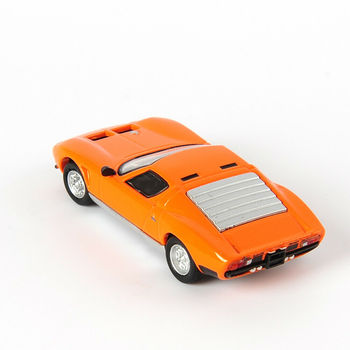 Kyosho 1/64 model samochodu sportowego Miura Jota trwała odpowiedź wirusologiczna występująca wyścigi kolekcja zabawek