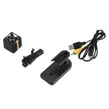 SQ11 мини-камера, Автомобильный видеорегистратор FHD 1080 P, видеокамера ночного видения, инфракрасный видеорегистратор, поддержка TF карты, Спортивная цифровая камера