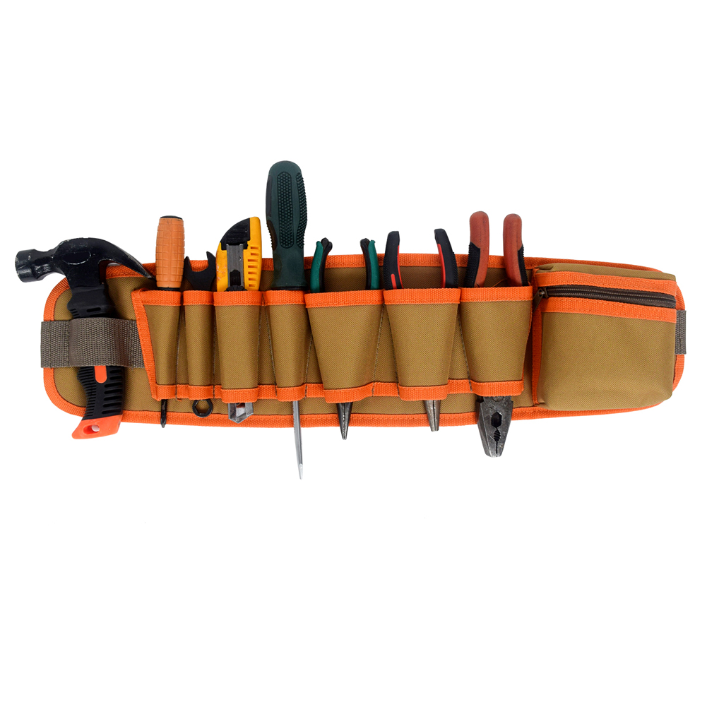 Multi-pockets Tool Bag Waist Pockets Electrician Tool Holder Pouch Belt Bag Suitable For Maintenance Workers Electricians