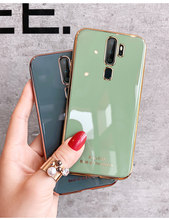 Luxe Plating Siliconen Telefoon Geval Voor Oppo A9 A5 2020 Reno 3 2z 2 Z Realme Ace Vinden X2 X50 pro R15 R17 Pro A3s Cover(China)