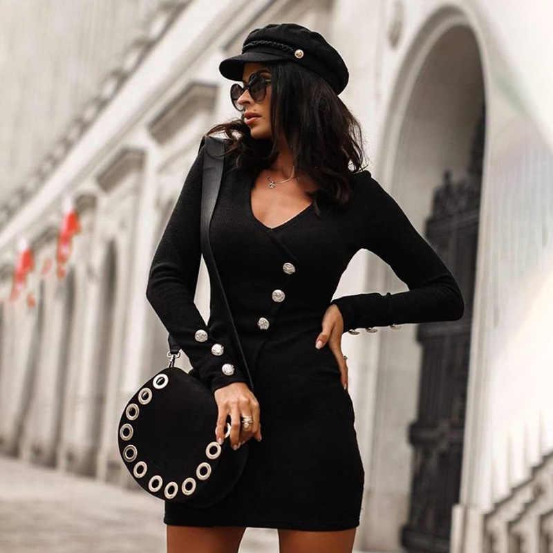 2020 Jurk Dames Vestidos Effen Kleur Vrouwen Jurken Lente Slim Fit Casual Vrouwelijke Mode Jurken Hoge Quatily LT495