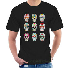 Mens T Shirts Fashion 2020 New Famous Brand Men Clothing Slim Fit PP Black Dead Skulls T Shirt Man T-shirts Tops Tees @093019
