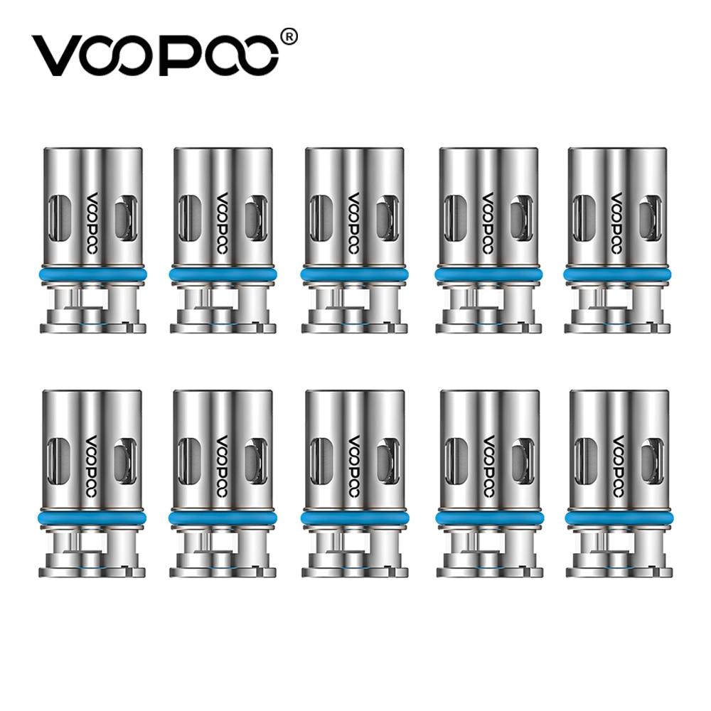 VOOPOO-bobina de malla de 0,6 ohm para cigarrillo electrónico, bobina de 0,6 ohm, Media DL, 20-25W, para VOOPOO Argus Air Pro X Drag X S Max Vinci Pod