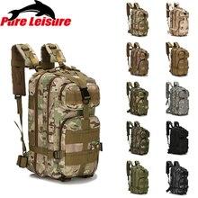 PureLeisure Waterproof Fishing Reel Bag Backpack 25L-30L Outdoor Sport Camping Hiking Hunting 3-Layer