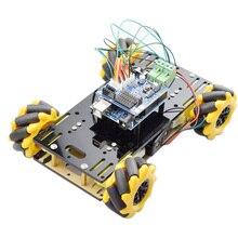 Car-Chassis-Kit Robot Program-Stem-Toy Mecanum-Wheel Omni Raspberry Pi Arduino Tt-Motor
