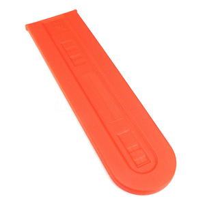 Image 3 - 1x Plastic Orange Chainsaw Bar Protect Cover Scabbard Guard for Stihl Chainsaw Bar Cover Tool Part Accessories