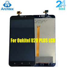 For Oukitel U20 PLUS LCD Display +TP Touch Screen Digitizer Assembly 5.5