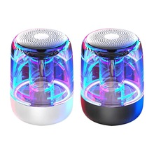 C7 alarm clock wireless Bluetooth speaker with LED colorful lights bestseller new Portable bluetooth