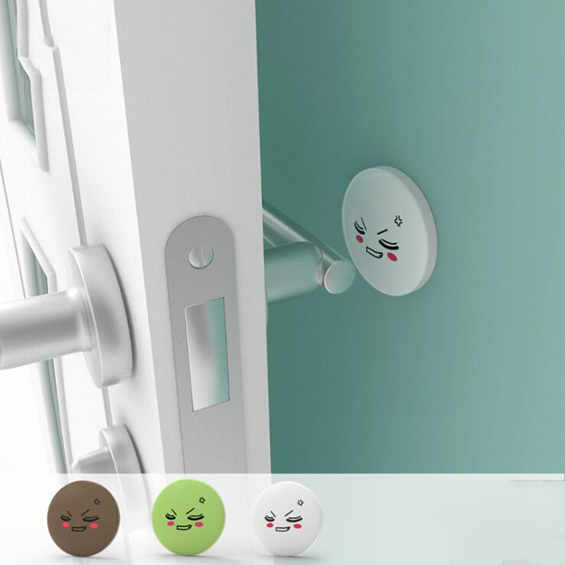 4pc / Set Baby Infant Door File Cartoon Anti-pinch Thickening Security Stopper