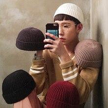 Шапки без козырьков, шапка в стиле хип-хоп, шапка с черепом, уличная вязаная шапка для женщин и мужчин, унисекс, повседневный Модный комбинезон с тыквой, переносная Кепка с дыней