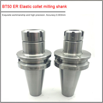 1PCS BT50-ER16 ER20 ER25 ER32  Collet Chuck holder CNC Machining Center  Keyway High Speed BT50 CNC Tool Holder new 1pcs c3 4 er32 1 38l collet chuck holder cnc milling and 1pcs wrench
