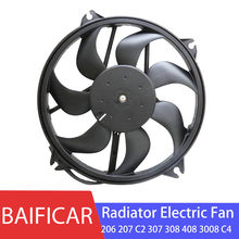 Baificar Brand New Engine Motor Driven Radiator Electric Fan For Peugeot 206 207 C2 307 308 408 3008 Citroen C4 Sega Berlingo(China)
