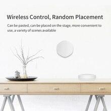 Zigbee Smart Switch Wireless Smart Tuya  Button Remote Control Multi-scene Linkage Button One Key Three Uses Switch Smart Home