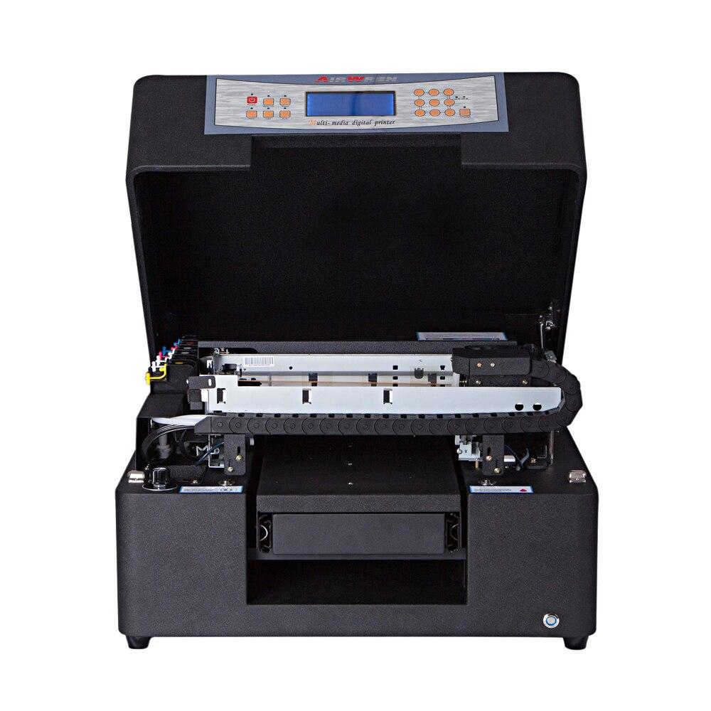 A4 Mini UV Flatbed Pen Id Card Printer