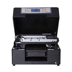 Gorący sprzedawanie A4 cyfrowe płaskie uv drukarka led pulpit maszyny drukarskiej