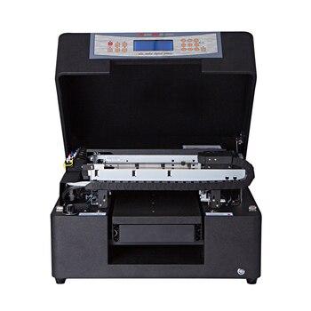 Impresora de tarjetas de visita de impresora plana uv digital A4 con bajo costo