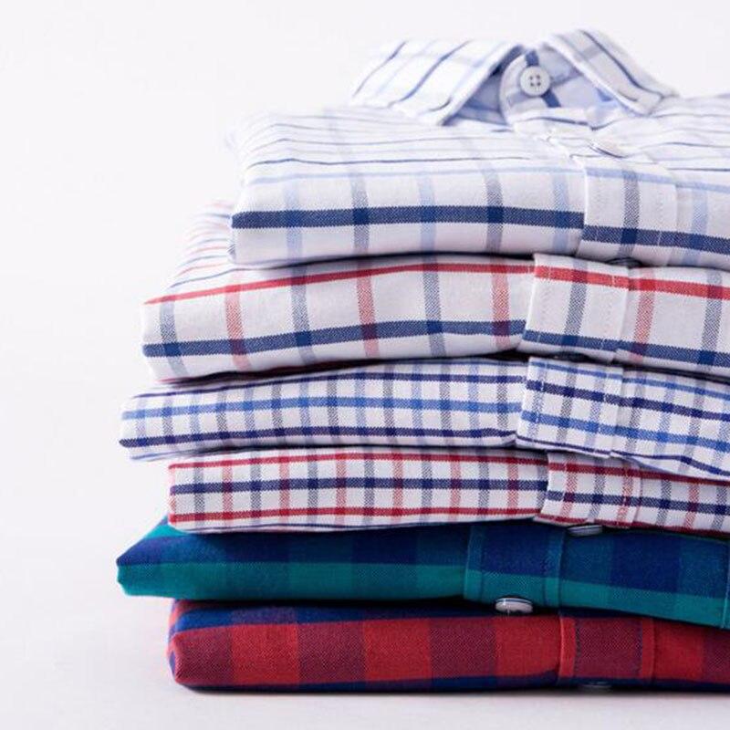 Hommes mode respirant confortable chemises Camisa, couleur unie bonbon Oxford coton Slim Fit unique boutonnage haute qualité tissu