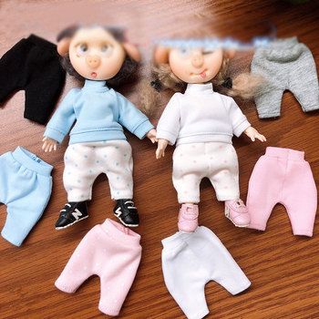 ob11 baby clothes pants haren pants beautiful knot pig 1/12 bjd doll clothes pants doll accessories birthday present image