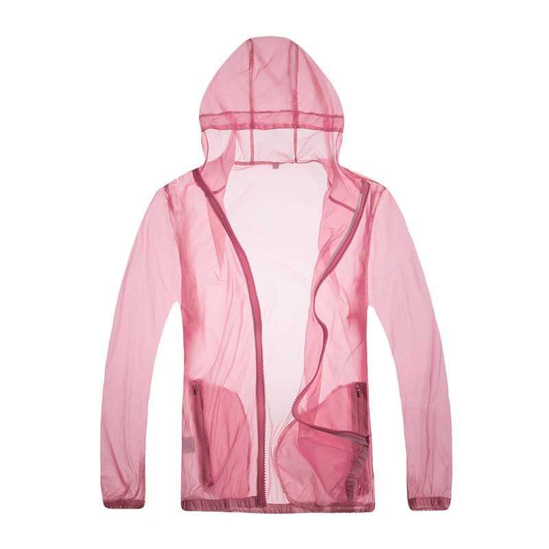 Lightweight Sun Block UV Protection Fishing Wear Jacket  Anti-Fouling Cool Coats