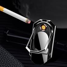 3 In 1 USB Cigarette Lighter Charging Electric Arc Lighters Gadgets for Men