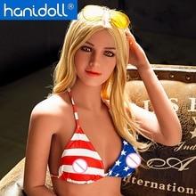 Hanidoll Silicone Sex Dolls 158cm Love Doll Realistic Full Body Ass Vagina Breast USA Bikini Lifelike Real Doll Tpe Sex Doll