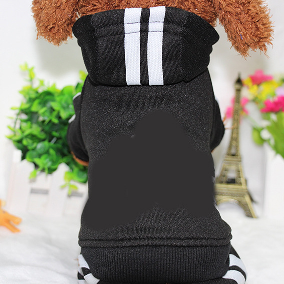 PUOUPUOU Winter Warm Pet Dog Clothes Hoodies Sweatshirt for Small Medium Dogs French Bulldog Sweet Puppy Dog Clothing XS-XXL 5