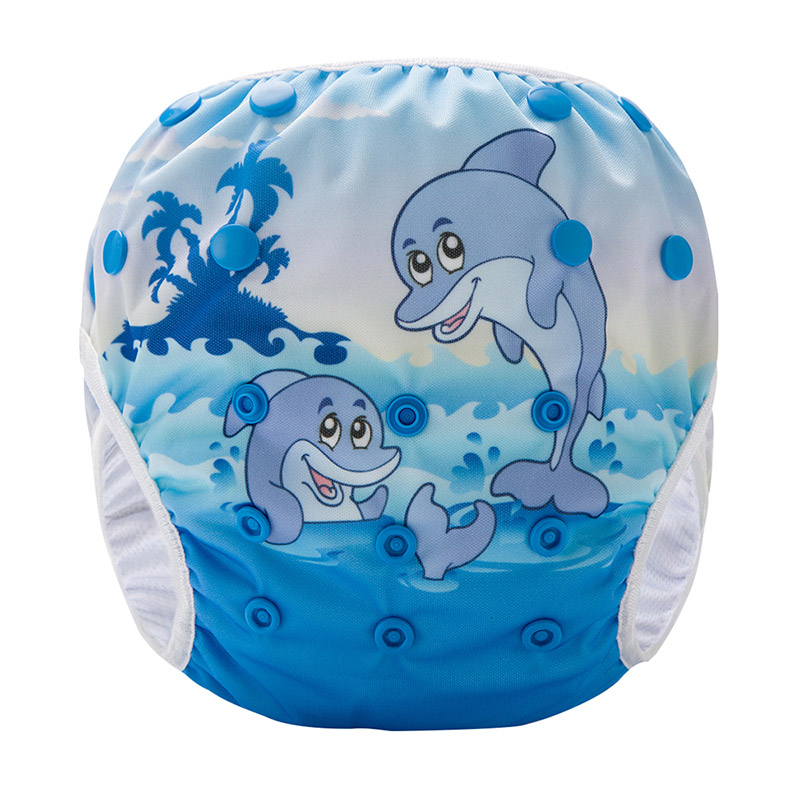 Baby Diapers Nappies Pants Swimming Waterproof Diaper Eco-Friendly Baby Swim Diapers SM-DY5