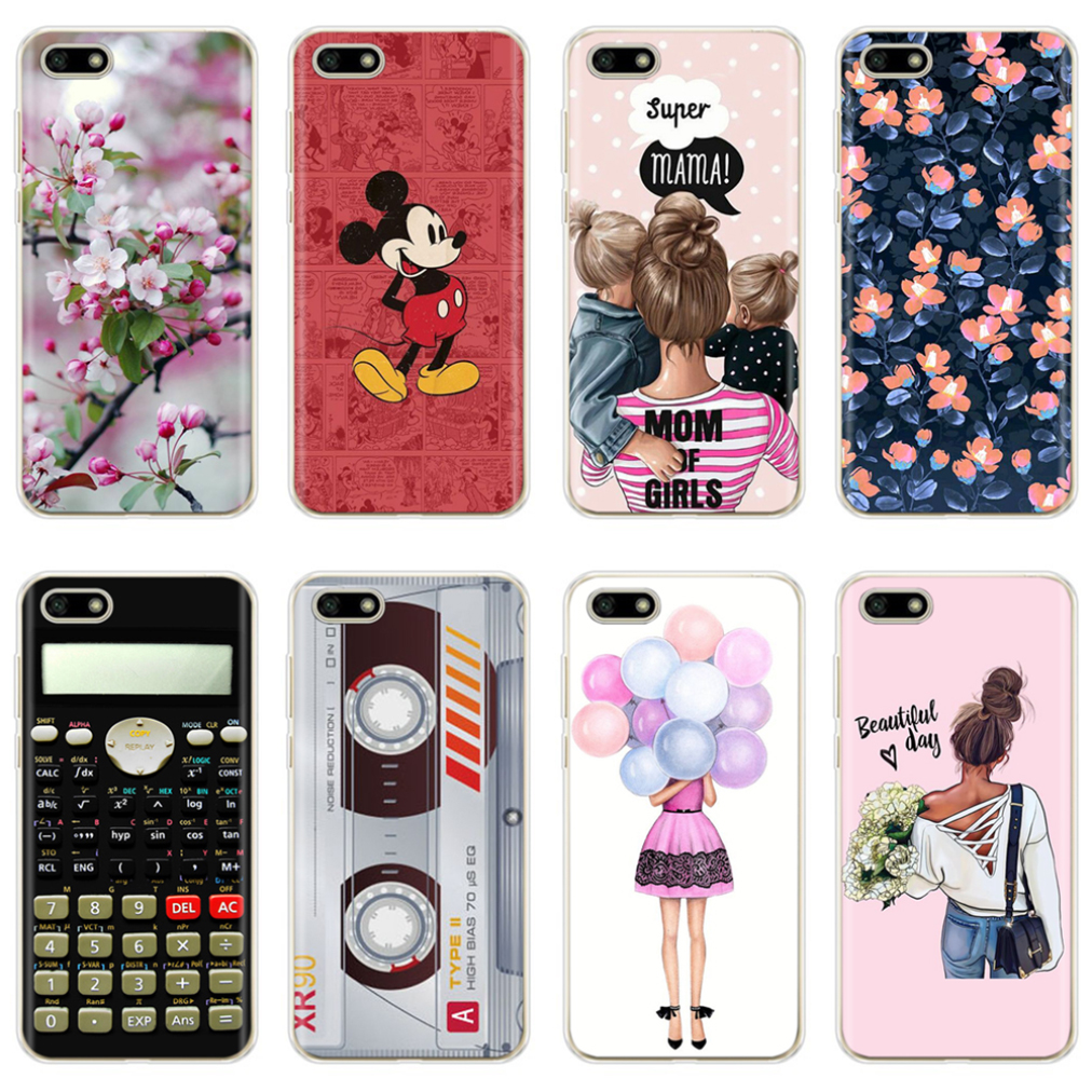 Soft Silicone Cover For <font><b>Huawei</b></font> Y5 <font><b>2018</b></font> Y5 Lite <font><b>2018</b></font> TPU Cute Case for <font><b>Huawei</b></font> Y5 <font><b>Y</b></font> <font><b>5</b></font> Prime <font><b>2018</b></font> <font><b>Fundas</b></font> Coque Phone Bumper Shell image