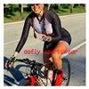 20 cores das mulheres longo mangas compridas skinssuit go pro equipe de ciclismo macacão pro equipe irmã triathlon roadbike mtb roupas verão macaquinho ciclismo feminino manga longa roupas com frete gratis macacao 17