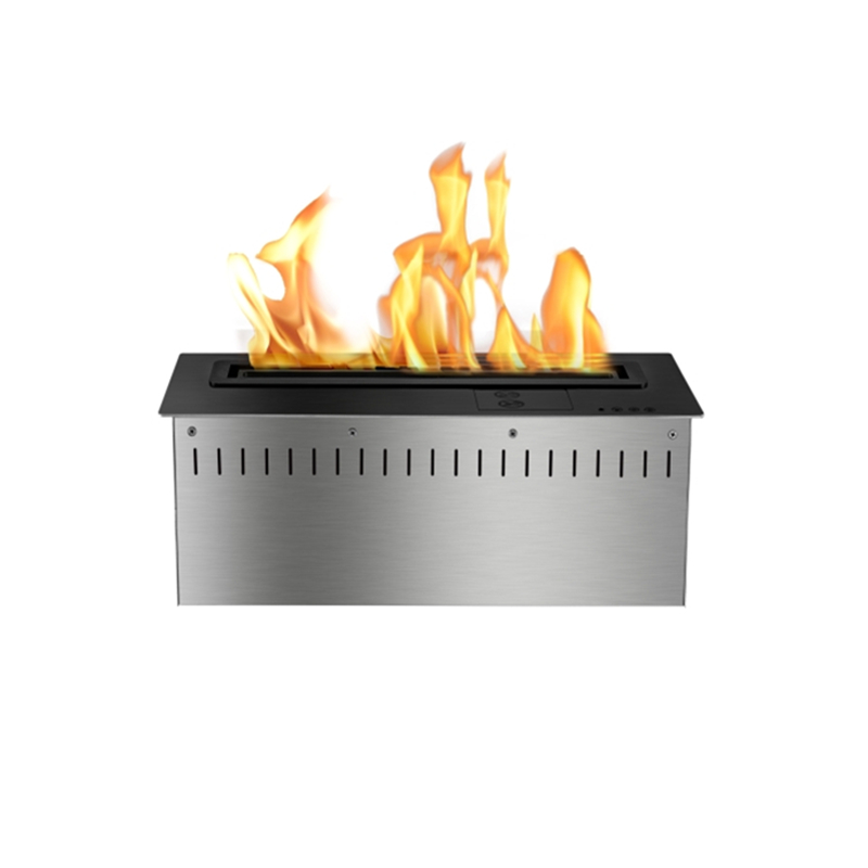 18 Inch Fireplace Burner Insert Remote Smart Home Decor