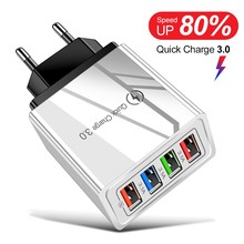 EU/US Plug USB Charger Quick Charge 3.0 For Phone Adapter for Huawei Mate 30 Tab