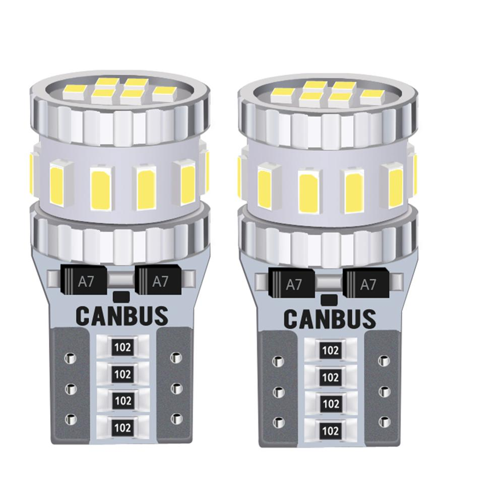 2x Canbus No Error W5W T10 <font><b>LED</b></font> Light Parking Bulb Clearance <font><b>Lamp</b></font> For <font><b>Renault</b></font> Duster Laguna <font><b>2</b></font> Captur <font><b>Megane</b></font> <font><b>2</b></font> Logan Koleos image