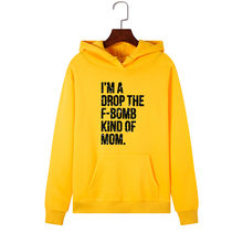 SINGRAIN Fashion Women Letter Print Hoodies Casual Streetwear Large Size Hooded Sweatshirt kpop Gothic Pullover Polerones Mujer(China)
