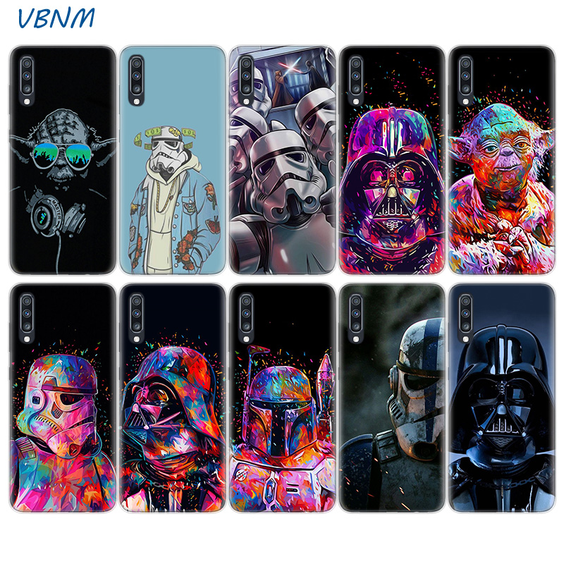 Star Wars Heart Silicone Shell Back Case For Samsung Galaxy A51 A71 A50 A70 A20 A30 A40 A10 A20E J4 J6 A6 A8 A7 A9 2018 Cover