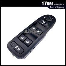 Wysokiej jakości okno elektryczne przełącznik główny przycisk konsoli do Peugeot 308 508 Citroen C5 akcesoria samochodowe 98054508ZD 98053439